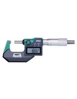 Digitální mikrometr vnější s datovým výstupem IP65 0-25 mm
