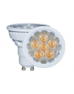 LED Bodová žárovka, 6W, MR10, Bílá