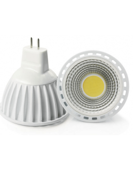 LED Bodová žárovka, 4W, MR16, Bílá