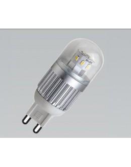 LED 360° SMD Žárovka, 3W, G9, Bílá